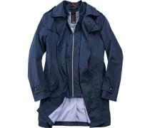 Mantel Polyester indigo