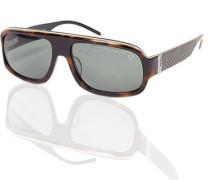 Brillen Strellson Sonnenbrille Kunststoff dunkelbraun
