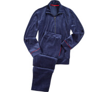 Schlafanzug Pyjama, Baumwolle,
