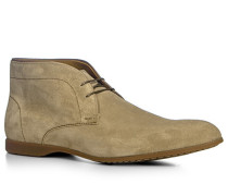 Herren Schuhe Desert Boots Veloursleder beige beige,beige