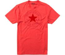 T-Shirt Baumwoll-Jersey gemustert