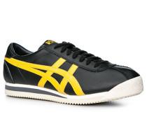Schuhe Sneaker Leder -gelb