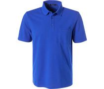 Polo-Shirt Polo, Baumwolle mercerisiert