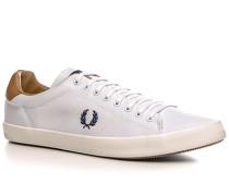 Herren Schuhe Sneaker Baumwolle weiß