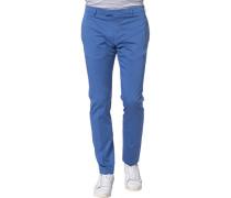 Hose Baumwolle azurblau