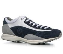 Herren Schuhe Sneaker 'Cortina 3' Leder-Textil-Mix navy blau
