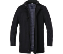 Jacke Wolle schwarz