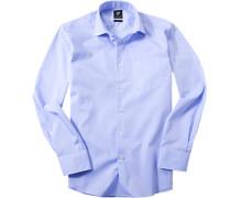 Herren Hemd Modern Fit Chambray hellblau