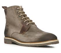 Herren Schuhe Steven Kalbleder grau