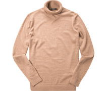 Pullover Wolle camel