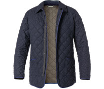 Steppjacke, Microfaser-Wolle-Mix,