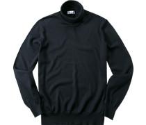 Pullover Pulli Merinowolle marine