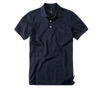 Polo-Shirt Polo Modern Fit Baumwoll-Piqué nachtblau