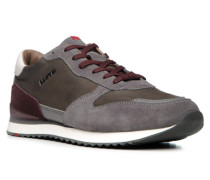 Herren Schuhe EDWIN Kalb-Rindleder grau grau,grün