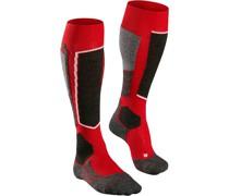 Socken Serie Skiing SK2, Kniestrümpfe, Microfaser