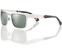 Brillen Strellson Sonnenbrille Metall silber