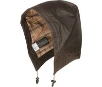 Accessoires Kapuze Baumwolle gewachst dunkelbraun