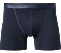 Herren Unterwäsche Trunk Baumwoll-Mix nachtblau