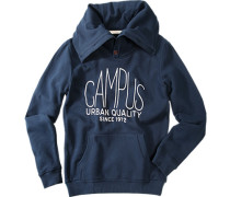 Pullover Sweater Baumwolle college blue