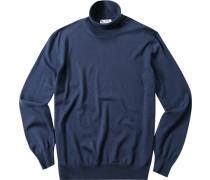 Pullover Pulli Merinowolle dunkelblau