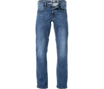 Jeans, Slim Fit, Baumwolle, denim