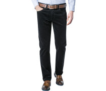Cord-Jeans Regular Fit Baumwoll-Stretch