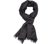 Schal, Wolle-Modal, tannengrün