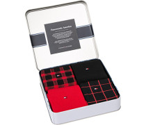 Socken Socken Geschenk-Box Baumwoll-Mix gemustert