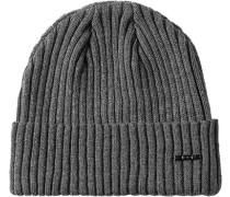 Herren   Mütze Wolle grau