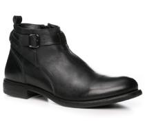 Herren Schuhe Stiefelette schwarz,schwarz