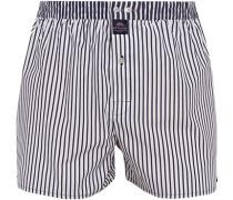 Unterwäsche Boxershorts, Baumwolle, weiß- gestreift