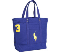 Tasche Shopper Canvas königsblau