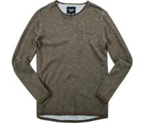 Pullover Baumwolle khaki