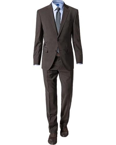 joop herren herren anzug ray blake regular fit schurwolle braun reduziert. Black Bedroom Furniture Sets. Home Design Ideas