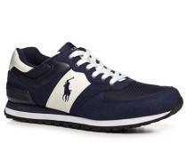 Schuhe Sneaker Kunstleder-Textil navy