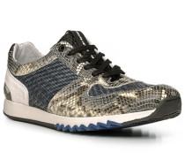 Schuhe Sneaker, Leder, braun-