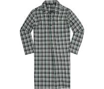 Nachthemd Baumwolle kariert
