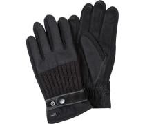 Handschuhe, Leder,