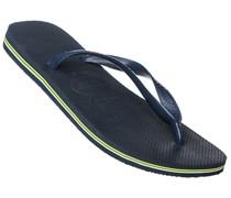 Schuhe Zehensandalen Gummi navy