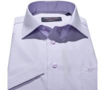 Hemd, Modern Fit, Chambray, flieder