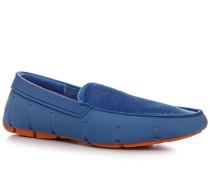 Schuhe Loafer Mesh-Kautschuk himmelblau