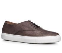 Herren Schuhe Sneaker Kalbleder cappuccino braun,braun