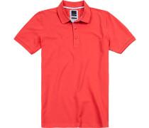 Polo-Shirt Polo Modern Fit Baumwoll-Piqué hellrot