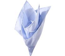 Accessoires Einstecktuch Baumwolle bleu