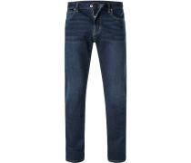 Jeans, Slim Fit, Baumwolle, indigo