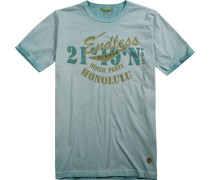 T-Shirt Baumwolle hellgrün