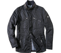 Jacke Classic Fit Microfaser