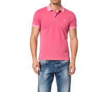 Polo-Shirt Polo, Baumwoll-Pique, fuchsia