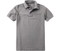 Polo-Shirt Polo Baumwoll-Piqué greige