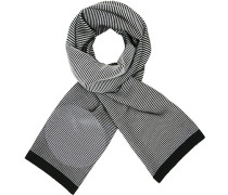 Schal, Wolle, navy gestreift